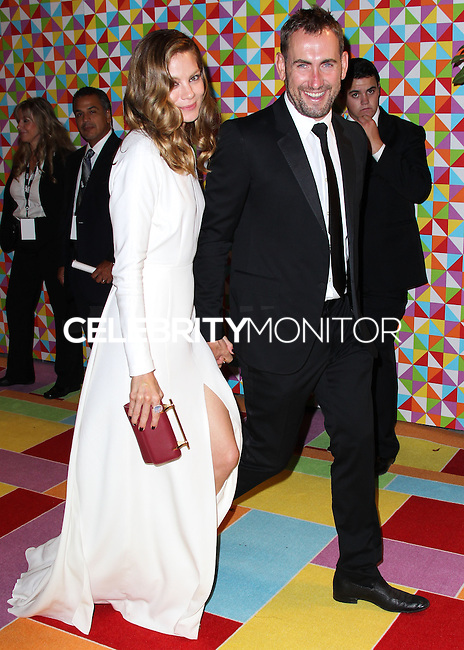 WEST HOLLYWOOD, CA, USA - AUGUST 25: Michelle Monaghan, Peter White at HBO's 66th Annual Primetime Emmy Awards After Party held at the Pacific Design Center on August 25, 2014 in West Hollywood, California, United States. (Photo by Xavier Collin/Celebrity Monitor)