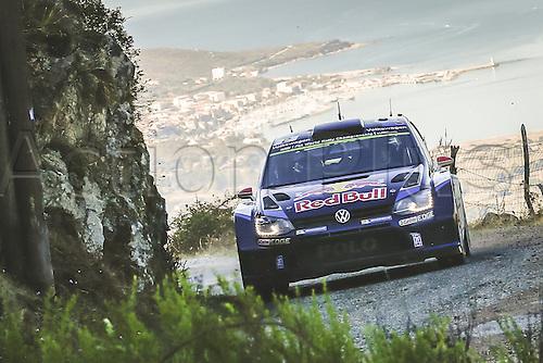 04.10.2015. Corsica. WRC Rally of Corsica, final stage.  Jari-Matti Latvala (FIN)- Mikka Antilla (FIN) - Volkswagen Polo WRC