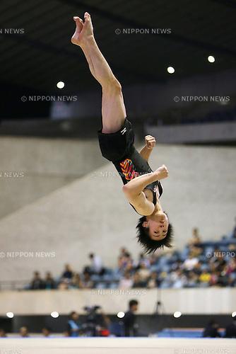 Ryohei Kato (JPN), JUNE 9, 2013 - Artistic gymnastics : The 52nd NHK Cup, Men's Individual All-Around final round at Yoyogi 1st Gymnasium, Tokyo, Japan. (Photo by Yusuke Nakanishi/AFLO SPORT)