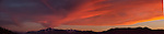 """Burning Sky Extended"" This Large Panoramic is the extension that continues to the left side of Burning Sky large panoramic.  When this photograph is 44"" tall it is 214.5"" long but can be printed in any smaller custom size. I captured this amazing sunset over Lake Tahoe from Zephyr Cove Beach located on the Nevada side of South Lake Tahoe.  This is one of my latest releases that was taken on June 8th 2013.  When the colors were at peak over the lake this is what it looked like to the far left of my view. The clouds were developing every day with the potential to be a spectacular sunset. Every night I shot from a different location in South Shore with this particular night turning in the most amazing sunset I have ever seen in my 29 years of living in Lake Tahoe."