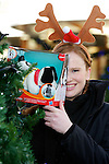 Pix: Shaun Flannery/shaunflanneryphotography.com...COPYRIGHT PICTURE>>SHAUN FLANNERY>01302-570814>>07778315553>>..11th December 2010...............Lakeside Village, Doncaster..Secret Santa - Katie Ogley, JCI President..