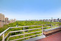 Roof Deck at 240 Central Park West