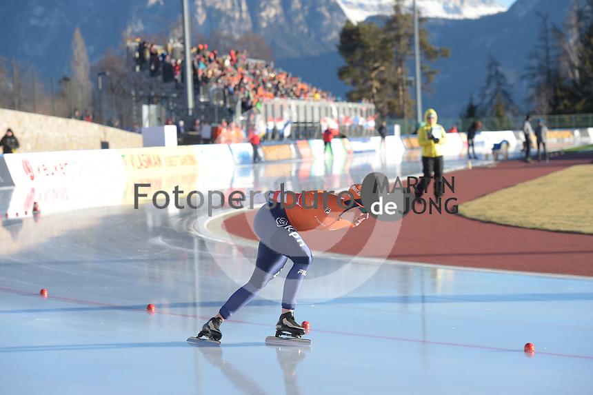 SPEED SKATING: COLLALBO: Arena Ritten, 11-01-2019, ISU European Speed Skating Championships, Ireen Wüst (NED), ©photo Martin de Jong
