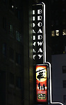 "Theatre Marquee for The Opening Night Performance of the New Broadway Production of ""Miss Saigon"" at the Broadway Theatre on March 23, 2017 in New York City."