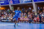 SCHWEIKARDT, Michael (#8 TVB 1898 Stuttgart) \ beim Spiel in der Handball Bundesliga, TVB 1898 Stuttgart - Die Eulen Ludwigshafen.<br /> <br /> Foto &copy; PIX-Sportfotos *** Foto ist honorarpflichtig! *** Auf Anfrage in hoeherer Qualitaet/Aufloesung. Belegexemplar erbeten. Veroeffentlichung ausschliesslich fuer journalistisch-publizistische Zwecke. For editorial use only.