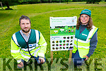 Daniel Buckley Conservation Ranger for East Kerry and Mary Sheehan Conservation Ranger Killarney National Park who are delighted with thousands of flowers bloomimg around Killarney because of the Pollinator Friendly grass cutting initiative