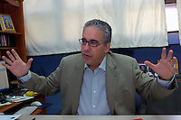 Fernando Hasbun presidente de Noticia SIN..Lugar:Ciudad de Bonao Provincia Mon Señor Noel.Foto:Cesar de la Cruz.Fecha:.
