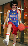 12 June 2006: A U.S. fan dressed up as a member of the Harlem Globetrotters. The United States played the Czech Republic at Veltins Arena in Gelsenkirchen, Germany in match 10, a Group E first round game, of the 2006 FIFA World Cup.