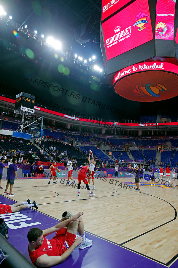 European basketball championship, Evropsko prvenstvo u kosraci Eurobasket Rusija - Srbija, Russia - Serbia 02.9.2017. Istanbul, Turska, 2. Septembar 2017. (credit image & photo: Pedja Milosavljevic / STARSPORT)