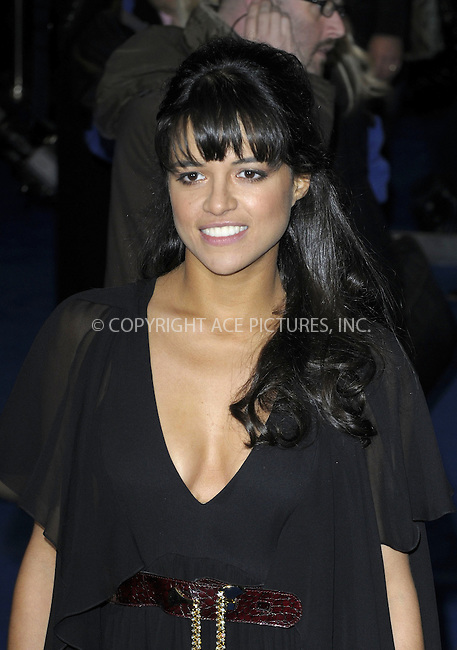 WWW.ACEPIXS.COM . . . . .  ..... . . . . US SALES ONLY . . . . .....December 10 2009, London....Michelle Rodriguez arriving at the World Premiere of Avatar at Odeon Leicester Square on December 10, 2009 in London, England. ......Please byline: FAMOUS-ACE PICTURES... . . . .  ....Ace Pictures, Inc:  ..tel: (212) 243 8787 or (646) 769 0430..e-mail: info@acepixs.com..web: http://www.acepixs.com