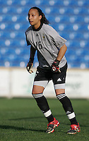 MAR 13, 2006: Faro, Portugal:  Sarah Bouhaddi
