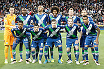 WfL Wolfsburg's team photo during Champions League 2015/2016 Quarter-finals 2nd leg match. April 12,2016. (ALTERPHOTOS/Acero)