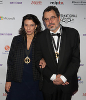 NEW YORK, NY - NOVEMBER 19: Nora Goulart and Jorge Furtado at the 40th International Emmy Awards in New York. November 19, 2012. © Diego Corredor/MediaPunch Inc. /NortePhoto