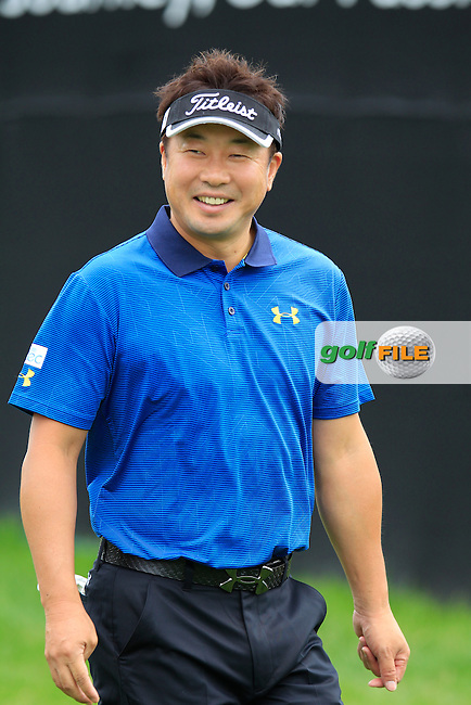 Daisuke Maruyama (JPN) during Wednesday's Practice Day of the WGC Bridgestone Invitational, held at the Firestone Country Club, Akron, Ohio.: Picture Eoin Clarke, www.golffile.ie: 30th July 2014