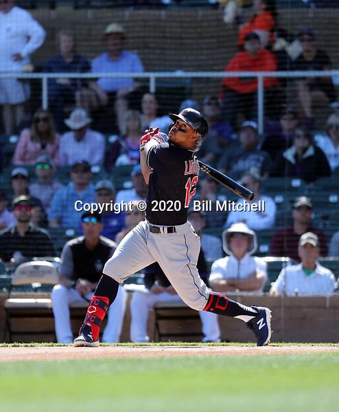 Francisco Lindor - Cleveland Indians 2020 spring training (Bill Mitchell)