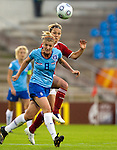 Kirsten van den Ven, Cathrine Paaske, Women's EURO 2009 in Finland.Denmark-Netherlands, 08292009, Lahti Stadium