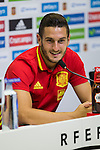Spanish Koke Resurrecccion during the press conference of the concentration of Spanish football team at Ciudad del Futbol de Las Rozas before the qualifying for the Russia world cup in 2017 August 30, 2016. (ALTERPHOTOS/Rodrigo Jimenez)