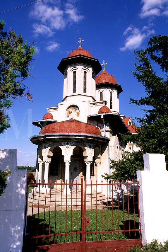 Old and beautiful Romanian Orthodox Church in Giuren Romania