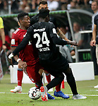12.08.2018, Commerzbank - Arena, Frankfurt, GER, Supercup, Eintracht Frankfurt vs FC Bayern M&uuml;nchen , <br />DFL REGULATIONS PROHIBIT ANY USE OF PHOTOGRAPHS AS IMAGE SEQUENCES AND/OR QUASI-VIDEO.<br />im Bild<br />Foul von Danny Da Costa (Frankfurt) an David Alaba (M&uuml;nchen), der mit Knieverletzung ausgewechselt wird<br /> <br /> Foto &copy; nordphoto / Bratic
