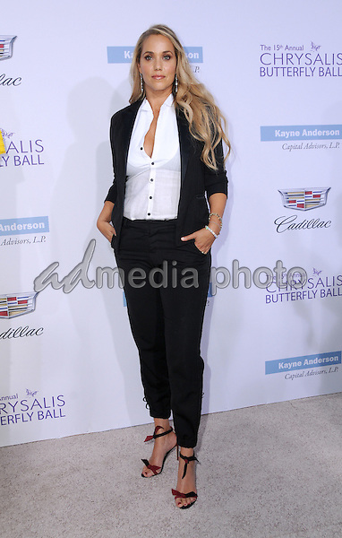 11 June 2016 - Los Angeles. Elizabeth Berkley. Arrivals for the 15th Annual Chrysalis Butterfly Ball held at a Private Mandeville Canyon Residence. Photo Credit: Birdie Thompson/AdMedia
