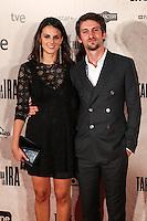 "Raul Arebalo and Melania Mazos during the premiere of the film ""Tarde para la Ira"" in Madrid. September 08, 2016. (ALTERPHOTOS/Rodrigo Jimenez) /NORTEPHOTO.COM"