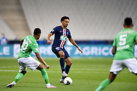 24th July 2020, Stade de France, Paris, France; French football Cup Final, Paris Saint Germain versus  St Ertienne;  05 MARQUINHOS (PSG)