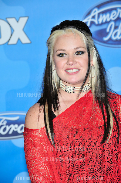 Amanda Overmyer at party for the top 12 finalists of 2008 American Idol at the Pacific Design Centre, Los Angeles..March 6, 2008  Los Angeles, CA.Picture: Paul Smith / Featureflash