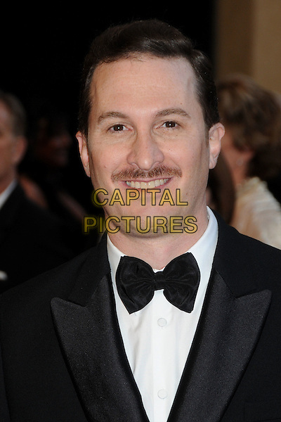 DARREN ARONOFSKY.83rd Annual Academy Awards - Arrivals held at the Kodak Theatre, Hollywood, California, USA, 27th February 2011..oscars portrait headshot black bow tie moustache mustache facial hair smiling .CAP/ADM/BP.©Byron Purvis/AdMedia/Capital Pictures.