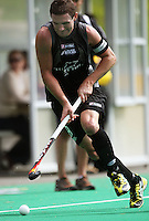 NZ captain Phillip Burrows during the international hockey match between the New Zealand Black Sticks and India at National Hockey Stadium, Wellington, New Zealand on Saturday, 20 February 2009. Photo: Dave Lintott / lintottphoto.co.nz