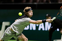 ABNAMRO World Tennis Tournament, 14 Februari, 2018, Rotterdam, The Netherlands, Ahoy, Tennis, Andrey Rublev (RUS)<br /> <br /> Photo: www.tennisimages.com