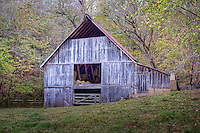Old barn on Hwy 43 west of Jasper Arkansas in Boxley Valley near the Buffalo National River.