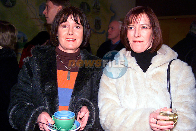 Patricia Smith and Marie Gaushram at Richard Moore,s Exhibation in Brn Na Binne...Pic Tony Campbell/Newsfile