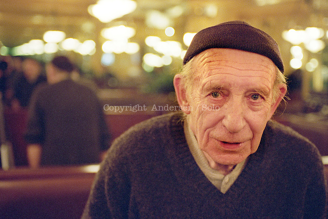 Jacques Sternberg (1023-2006) photographed in 2002.