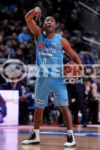 Asefa Estudiantes' Jayson Granger during Liga Endesa ACB match.January 13,2012. (ALTERPHOTOS/Acero)
