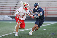 College Park, MD - March 18, 2017: Maryland Terrapins Connor Kelly (40) in action during game between Villanova and Maryland at  Capital One Field at Maryland Stadium in College Park, MD.  (Photo by Elliott Brown/Media Images International)