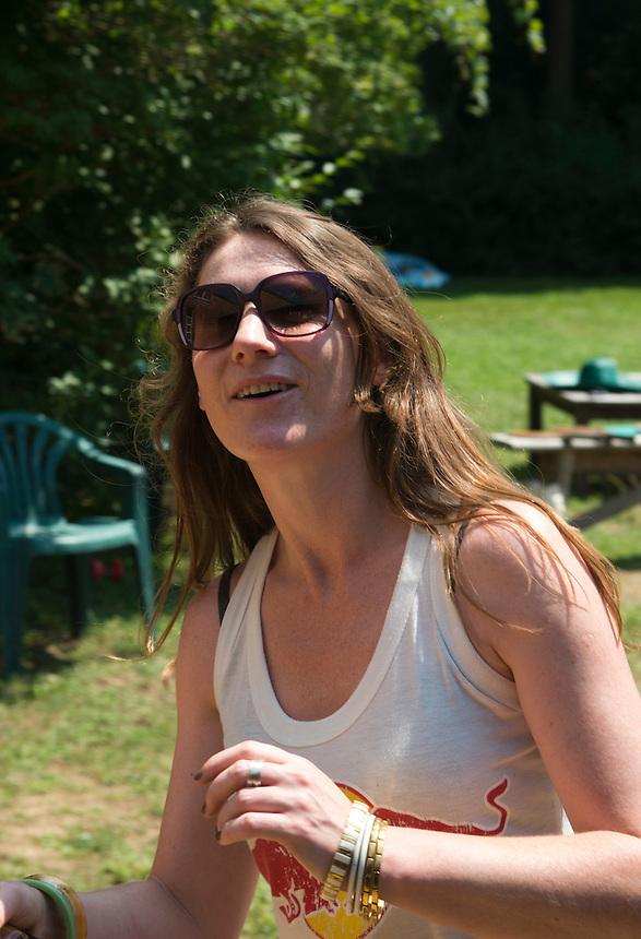 Amy. Roofball Tournament. The Barn. Bridgehampton, New York 2012