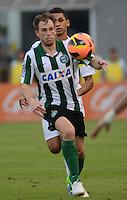 SANTOS SP, 21 Julho 2013 - Santos  X Coritiba -  R Iberbia do Coritiba durante partida contra o Santos valida pelo campeonato brasileiro de 2013  no Estadio da Vila Belmiro em  Santos, neste domingo, 21. (FOTO: ALAN MORICI / BRAZIL PHOTO PRESS).