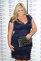 Gemma Collins arriving at James' Jog On To Cancer Event, Kensington Roof Gardens, London. 09/04/2014 Picture by: Alexandra Glen / Featureflash