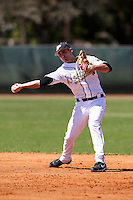 February 26, 2010:  Second Baseman Eric Charles of the Purdue Boilermakers during the Big East/Big 10 Challenge at Raymond Naimoli Complex in St. Petersburg, FL.  Photo By Mike Janes/Four Seam Images