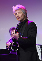 NEW YORK, NY - NOVEMBER 02: Jon Bon Jovi performs onstage at the Samsung annual charity gala 2017 at Skylight Clarkson Square on November 2, 2017 in New York City.  Credit: George Napolitano/MediaPunch