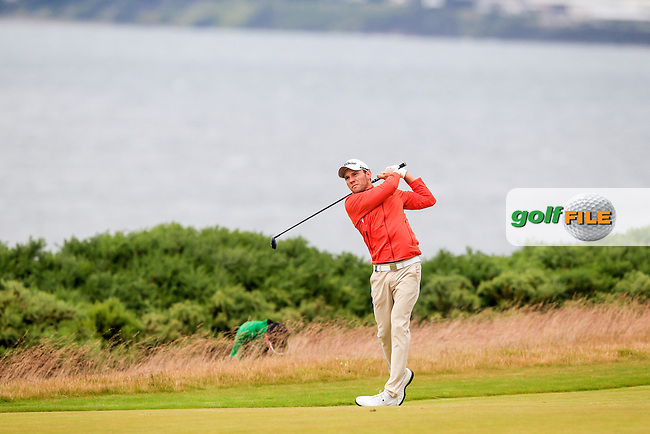 Maximilian Kiefer (GER) during the first round of the Aberdeen Asset Management Scottish Open 2016, Castle Stuart  Golf links, Inverness, Scotland. 07/07/2016.<br /> Picture Fran Caffrey / Golffile.ie<br /> <br /> All photo usage must carry mandatory copyright credit (&copy; Golffile | Fran Caffrey)