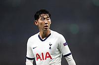 Son Heung-Min of Tottenham Hotspur during Tottenham Hotspur vs FC Bayern Munich, UEFA Champions League Football at Tottenham Hotspur Stadium on 1st October 2019