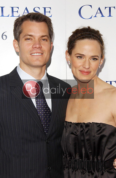 """Timothy Olyphant and Jennifer Garner<br />at the world premiere of """"Catch and Release"""". The Egyptian Theatre, Hollywood, CA. 01-22-07<br />Dave Edwards/DailyCeleb.com 818-249-4998"""