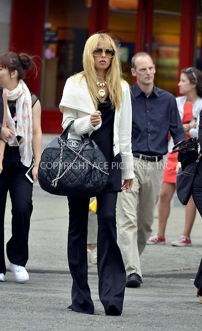 WWW.ACEPIXS.COM<br /> <br /> September 13 2013, New York City<br /> <br /> TV personality and designer Rachel Zoe walks in Soho on September 13 2013 in New York City<br /> <br /> By Line: Curtis Means/ACE Pictures<br /> <br /> <br /> ACE Pictures, Inc.<br /> tel: 646 769 0430<br /> Email: info@acepixs.com<br /> www.acepixs.com