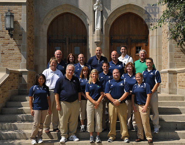 RecSports administrative staff group photo..Photo by Matt Cashore/University of Notre Dame