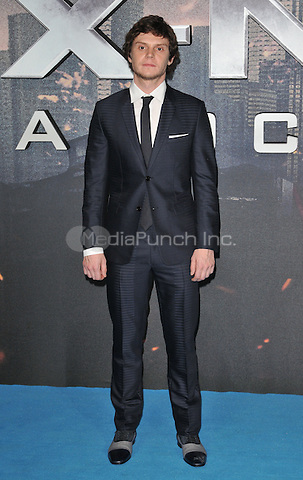 Evan Peters at the &quot;X-Men : Apocalypse&quot; global fan screening, BFI Imax, Charlie Chaplin Walk, London, England, UK, on Monday 09 May 2016.<br /> CAP/CAN<br /> &copy;CAN/Capital Pictures /MediaPunch ***NORTH AMERICA AND SOUTH AMERICA ONLY***