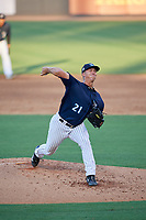 Tampa Tarpons starting pitcher Glenn Otto (21) during a Florida State League game against the Daytona Tortugas on May 17, 2019 at George M. Steinbrenner Field in Tampa, Florida.  Daytona defeated Tampa 8-6.  (Mike Janes/Four Seam Images)
