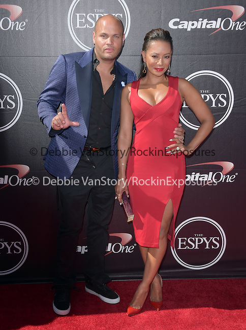 Mel B and  Stephen Belafonte attends The 2015 ESPY Awards held at The Microsoft Theatre  in Los Angeles, California on July 15,2015                                                                               © 2015 Hollywood Press Agency