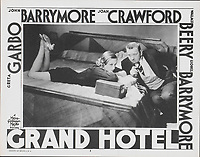 Grand Hotel (1932)<br /> Joan Crawford &amp; Wallace Beery<br /> *Filmstill - Editorial Use Only*<br /> CAP/MFS<br /> Image supplied by Capital Pictures