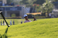 Thorbjorn Olesen (DEN) plays his 2nd shot on the 16th hole during Friday's Round 2 of the 2018 Turkish Airlines Open hosted by Regnum Carya Golf &amp; Spa Resort, Antalya, Turkey. 2nd November 2018.<br /> Picture: Eoin Clarke | Golffile<br /> <br /> <br /> All photos usage must carry mandatory copyright credit (&copy; Golffile | Eoin Clarke)